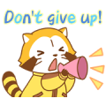 Rascal Supportive Stickers Sticker for LINE & WhatsApp | ZIP: GIF & PNG