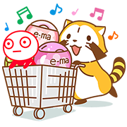 Rascal & UHA Boy's Colorful Days! Sticker for LINE & WhatsApp | ZIP: GIF & PNG