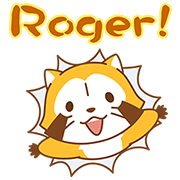 Rascal and Tanga Pop-Up Stickers Sticker for LINE & WhatsApp | ZIP: GIF & PNG