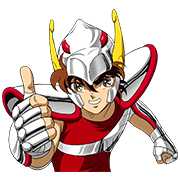 SAINT SEIYA-Knights of the Zodiac Sticker for LINE & WhatsApp | ZIP: GIF & PNG