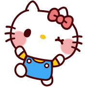 SANRIO CHARACTERS (Cartoon) Sticker for LINE & WhatsApp | ZIP: GIF & PNG