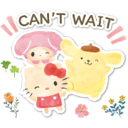 SANRIO CHARACTERS (Forest) Sticker for LINE & WhatsApp | ZIP: GIF & PNG
