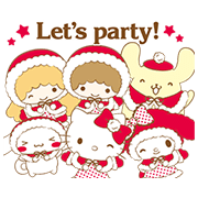 SANRIO CHARACTERS: Warm and Fluffy Sticker for LINE & WhatsApp | ZIP: GIF & PNG