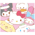 SANRIO CHARACTERS (Winter) Sticker for LINE & WhatsApp | ZIP: GIF & PNG