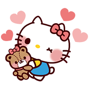 SANRIO CHARACTERS2 (Cartoons) Sticker for LINE & WhatsApp | ZIP: GIF & PNG