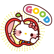 SANRIO CHARACTERS3 (Cartoons) Sticker for LINE & WhatsApp | ZIP: GIF & PNG