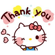SANRIO CHARACTERS4 (Cartoons) Sticker for LINE & WhatsApp | ZIP: GIF & PNG