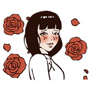 Soap Opera -The Flame of Love Sticker for LINE & WhatsApp | ZIP: GIF & PNG