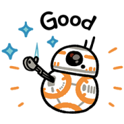 Star Wars Stickers by Kanahei Sticker for LINE & WhatsApp | ZIP: GIF & PNG