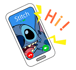 Stitch Pop-Up Mayhem Sticker for LINE & WhatsApp   ZIP: GIF & PNG