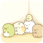 Sumikko Gurashi Sticker for LINE & WhatsApp | ZIP: GIF & PNG