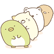 Sumikko Gurashi: More Animated Than Ever Sticker for LINE & WhatsApp | ZIP: GIF & PNG