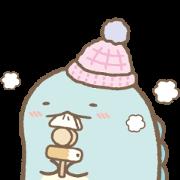 Sumikko Gurashi Winter Stickers Sticker for LINE & WhatsApp | ZIP: GIF & PNG