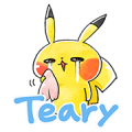 Team Rascal Pikachu Sticker for LINE & WhatsApp | ZIP: GIF & PNG