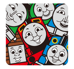 Thomas & Friends Sticker for LINE & WhatsApp | ZIP: GIF & PNG