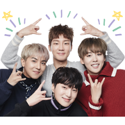 WINNER Sticker for LINE & WhatsApp | ZIP: GIF & PNG