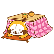 WINTER ☆ RASCAL Sticker for LINE & WhatsApp | ZIP: GIF & PNG