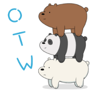 We Bare Bears Animated Stickers Sticker for LINE & WhatsApp | ZIP: GIF & PNG