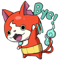 YO-KAI WATCH: Everyday Stickers Sticker for LINE & WhatsApp | ZIP: GIF & PNG