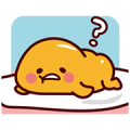 gudetama: Nice and Over Easy Sticker for LINE & WhatsApp | ZIP: GIF & PNG