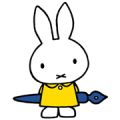 miffy Sticker for LINE & WhatsApp | ZIP: GIF & PNG