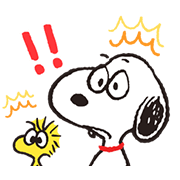Animated SNOOPY★FUNNY FACES Sticker for LINE & WhatsApp | ZIP: GIF & PNG