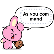 BT21 Message Stickers Sticker for LINE & WhatsApp | ZIP: GIF & PNG