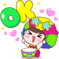 Boobib Pop Up 2 Sticker for LINE & WhatsApp | ZIP: GIF & PNG