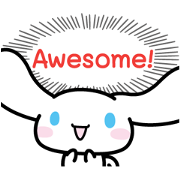 Cinnamoroll: From the Heart Sticker for LINE & WhatsApp | ZIP: GIF & PNG