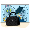 Cony and Jessica: Girls Night Out Sticker for LINE & WhatsApp | ZIP: GIF & PNG