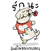 Dogplease Big Stickers 2020 Sticker for LINE & WhatsApp | ZIP: GIF & PNG