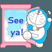 Doraemon Message Stickers Sticker for LINE & WhatsApp | ZIP: GIF & PNG