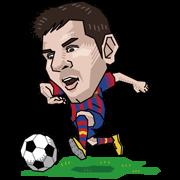 FC Barcelona Sticker for LINE & WhatsApp | ZIP: GIF & PNG