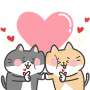 Hot Topic × Meowliens : Daily Life Sticker for LINE & WhatsApp | ZIP: GIF & PNG