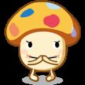 Kareshi-docomodake & Musume-docomodake Sticker for LINE & WhatsApp | ZIP: GIF & PNG