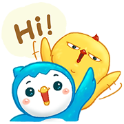 Krungthai Connext: Vayu × Warbie Are Back Sticker for LINE & WhatsApp | ZIP: GIF & PNG