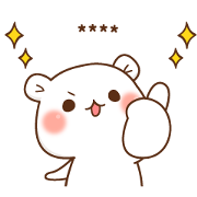 LINE MOBILE × bear and seal Sticker for LINE & WhatsApp | ZIP: GIF & PNG