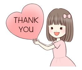 Little Girl Moves Sticker for LINE & WhatsApp | ZIP: GIF & PNG
