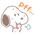 Lovely Snoopy Sticker for LINE & WhatsApp | ZIP: GIF & PNG