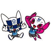 MIRAITOWA & SOMEITY TOKYO 2020 Stickers2 Sticker for LINE & WhatsApp | ZIP: GIF & PNG