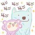 Majory: Dreamy Space Sticker for LINE & WhatsApp | ZIP: GIF & PNG