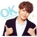 Mamoru Miyano Save offline sticker Sticker for LINE & WhatsApp | ZIP: GIF & PNG