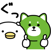 Noisy Chicken × reimaru Sticker for LINE & WhatsApp | ZIP: GIF & PNG
