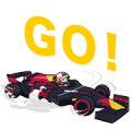 Red Bull Racing Sticker for LINE & WhatsApp | ZIP: GIF & PNG