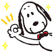 SNOOPY Pop-Up Stickers Sticker for LINE & WhatsApp | ZIP: GIF & PNG