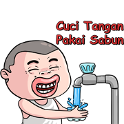 Siaga COVID-19 Sticker for LINE & WhatsApp | ZIP: GIF & PNG