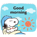 Snoopy Message Stickers Sticker for LINE & WhatsApp | ZIP: GIF & PNG