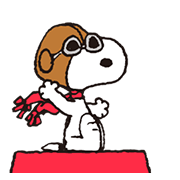 Snoopy in Disguise Sticker for LINE & WhatsApp | ZIP: GIF & PNG