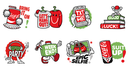 Super Hip Occasions Line Sticker GIF & PNG Pack: Animated & Transparent No Background | WhatsApp Sticker
