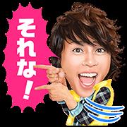 T.M.R. Takanori Nishikawa Sound Stickers Sticker for LINE & WhatsApp | ZIP: GIF & PNG